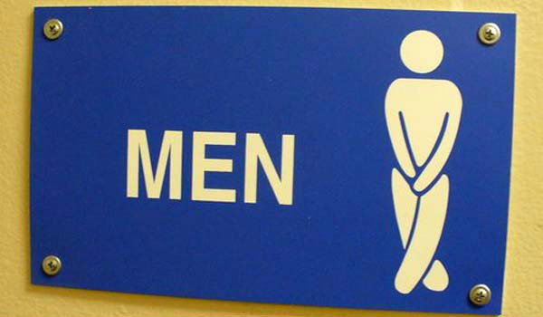 สัญลักษณ์ห้องน้ำผู้ชายฮาๆ