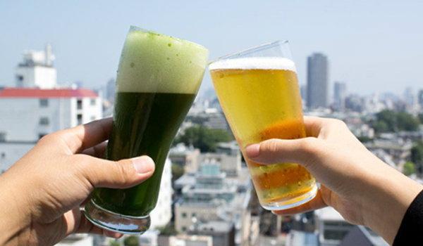 เบียร์ชาเขียวมัทฉะ จิบๆ กรึ่มๆ เทรนด์ใหม่จากญี่ปุ่น