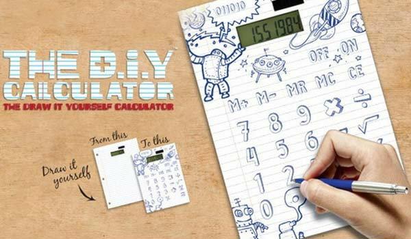 D.I.Y Calculator เครื่องคิดเลข วาดได้