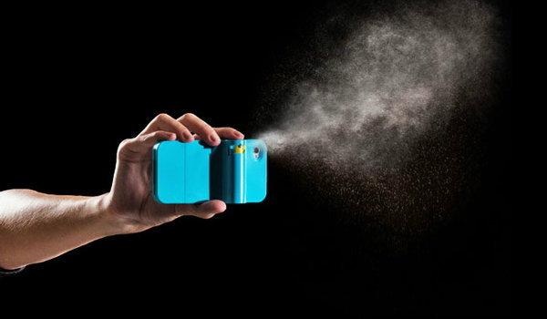 ป้องกันตัวด้วย iPhone พ่นพริกไทย