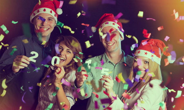 มาปาร์ตี้แบบคนหุ่นดี รับปีใหม่กันดีกว่า