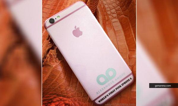 สาวกกรี๊ด! ไอโฟน 6 สีชมพู ราคาแค่ 90,000 บาท
