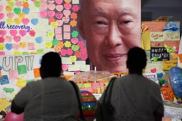 ลี กวน ยู นายกรัฐมนตรีคนแรกของสิงคโปร์