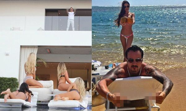 คาสโนว่าตัวพ่อ Tony Toutouni หล่อ รวย สาวเซ็กซี่รายล้อม