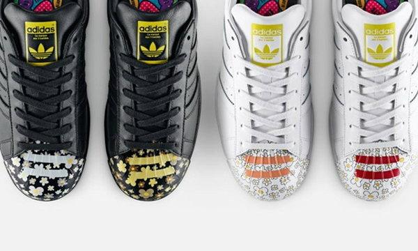 Pharrell Williams นำทีมศิลปินรังสรรค์คอลเลคชั่นใหม่ adidas Originals Supershell