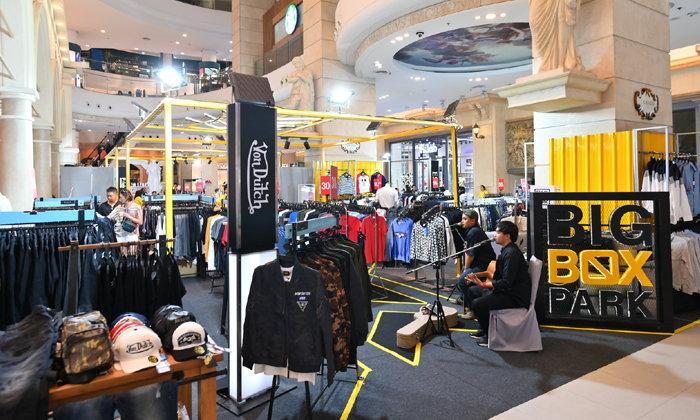 Big Box Park 2019 รวมแบรนด์แฟชั่น Outlet Pop-up Store ลดสูงสุด 70%