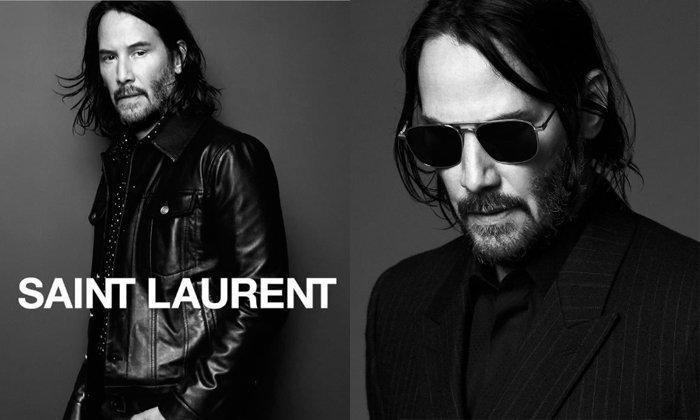 54 ยังเท่ Keanu Reeves นายแบบคนล่าสุดของ Saint Laurent