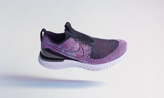Nike Phantom React Flyknit รองเท้าวิ่งไร้เชือก กระชับเท้ายิ่งกว่าเดิม