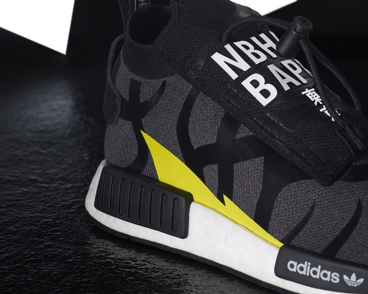 BAPE x NEIGHBORHOOD x adidas POD-S3.1 & NMD STLT