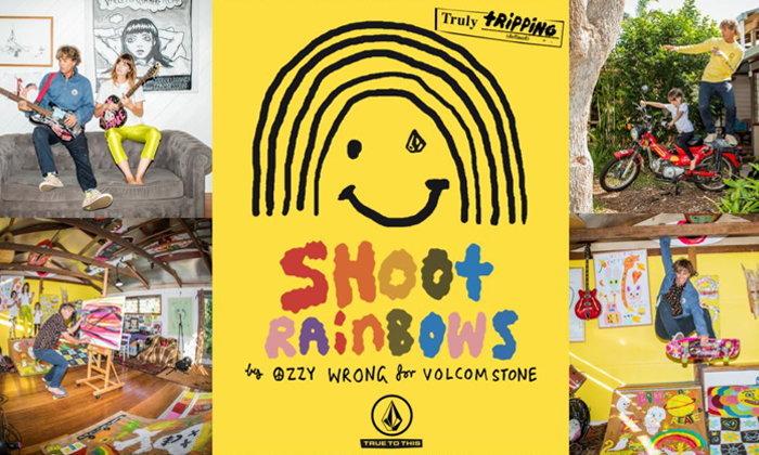 Shoot Rainbows คอลเลคชั่นสีสันสดใสจาก Volcom