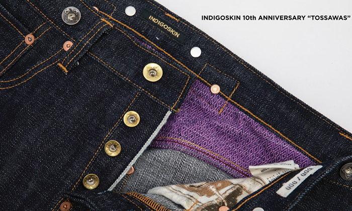 """5 ความพิเศษของ """"ทศวรรษ"""" กางเกงยีนส์ Limited Edition จาก Indigoskin"""