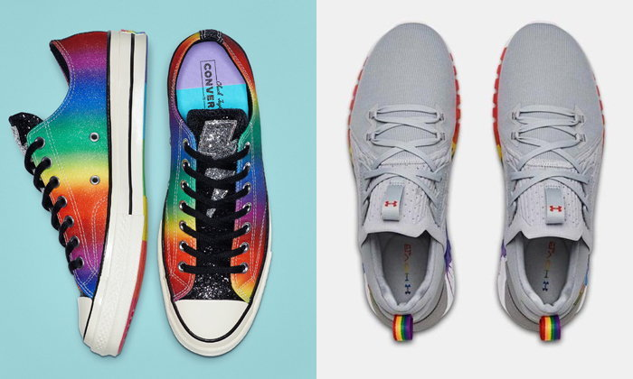 แนะนำ 8 รองเท้าสีรุ้งเข้ากับ Pride Month