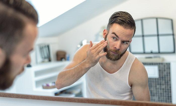 6 วิธีดูเเลผิวหน้าสำหรับผู้ชาย