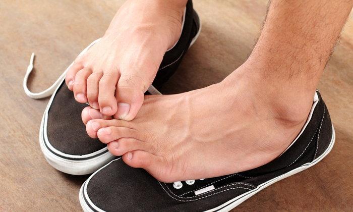 รวมไอเดียแก้ปัญหาเท้าเหม็นด้วยของใช้ในครัว