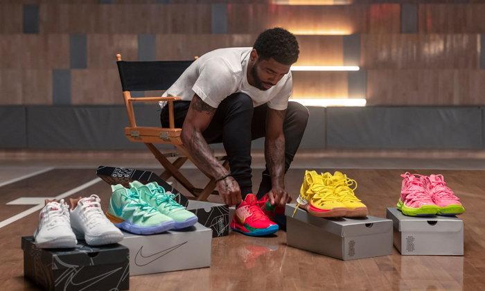 พาชมรองเท้าบาสสีสันจี๊ดจ๊าด เมื่อ Nike คอลแลบกับ SpongeBob
