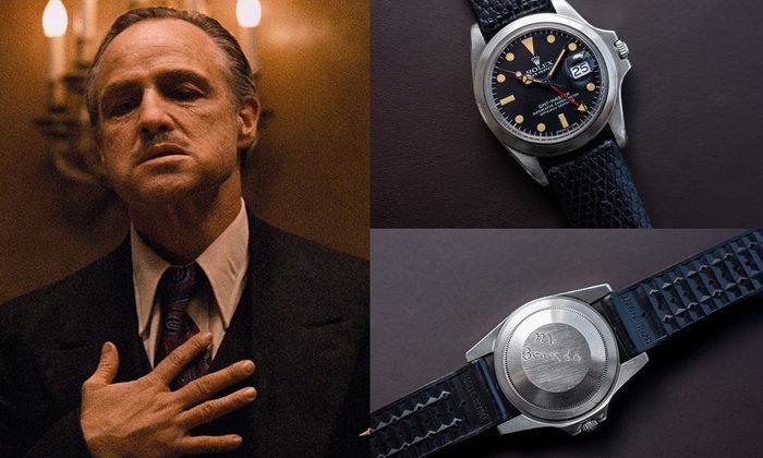 """เริ่มต้นกว่า 30 ล้านบาท! ประมูลนาฬิกานักแสดงผู้รับบทเจ้าพ่อใน """"เดอะ ก็อดฟาเธอร์"""""""