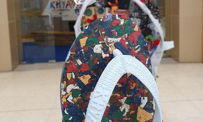 KHYA รองเท้าช้างดาวรุ่นพิเศษ ผลิตจากขยะทะเล