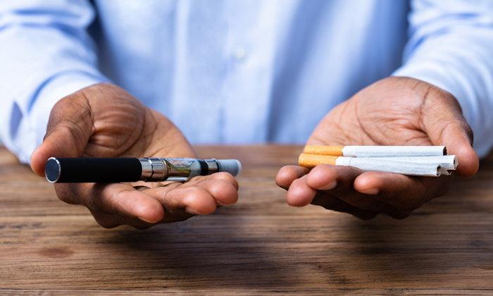 """ผลวิจัยยืนยัน """"บุหรี่ไฟฟ้า"""" ทำลายปอดเสียหายไม่แพ้บุหรี่ทั่วไป"""