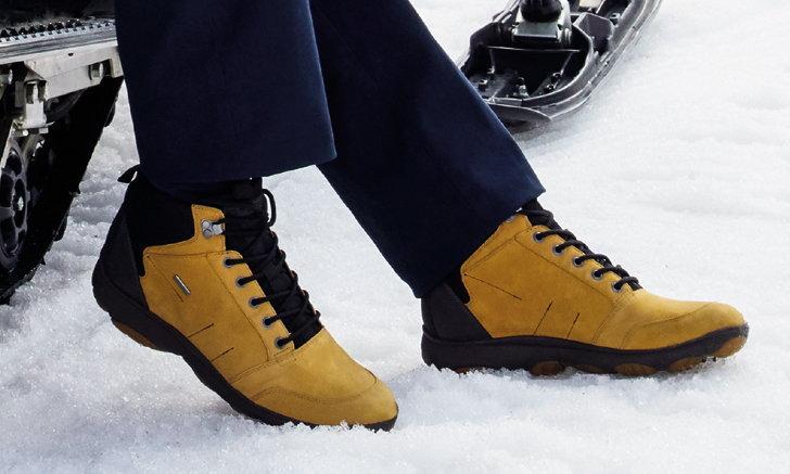 GEOX แนะนำรองเท้าสำหรับทริปฤดูหนาว