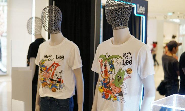 ฉลอง 50 ปีในไทย Lee x Sahred Toy จับวัฒนธรรมและความเป็นไทยมาใส่ไว้ในเสื้อยืด