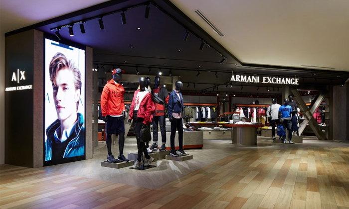 A X Armani Exchange เปิดตัวคอนเซปท์สโตร์ในรูปแบบใหม่ที่สยามดิสคัฟเวอรี่