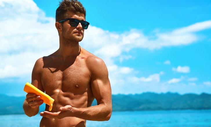 4 ประโยชน์ของกันแดดที่ผู้ชายส่วนใหญ่มองข้าม