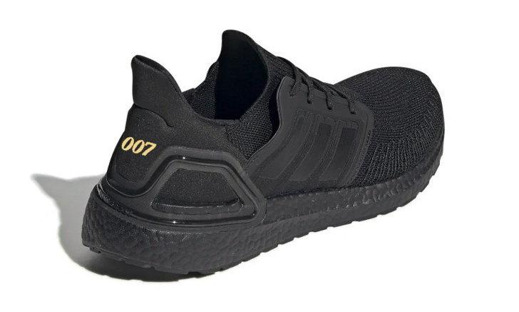James Bond x adidas Ultraboost 20 ภาพแรกรองเท้าสีดำสนิท