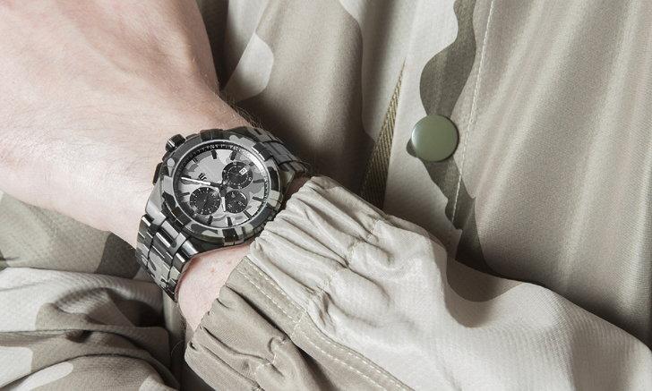 Maurice Lacroix นาฬิกาสัญชาติสวิส เปิดตัว AIKON Quartz Chrono Camouflage