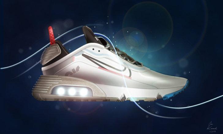 ไนกี้แอร์แมกซ์ 2090 (Air Max 2090) รองเท้านวัตกรรมแห่งยุคอนาคตรุ่นล่าสุด