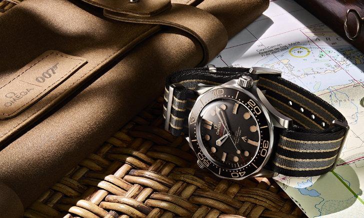 OMEGA กับ James Bond เผยโฉมเรือนเวลารุ่นใหม่ Seamaster Diver 300M 007 Edition
