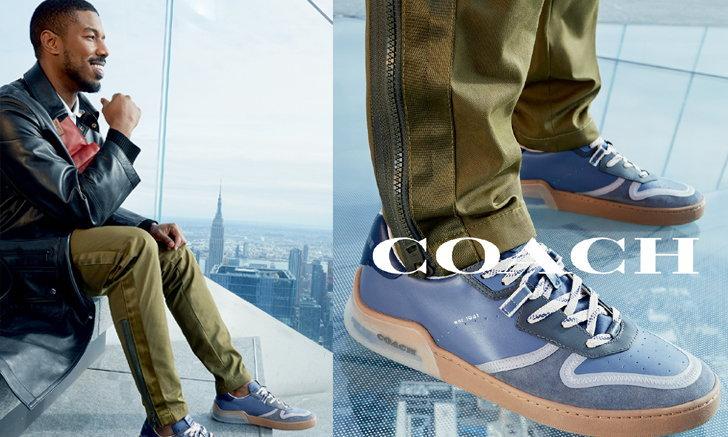 Coach เปิดตัว CitySole คอลเลคชั่นรองเท้ารุ่นใหม่ผลิตด้วยนวัตกรรมล่าสุด