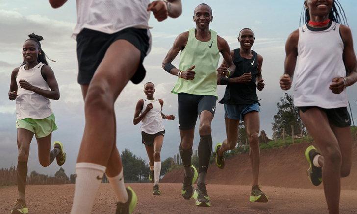 รองเท้าวิ่งตระกูลไนกี้ เน็กซ์ เปอร์เซ็นต์ (Nike NEXT%) ให้นักกีฬาวิ่งไปข้างหน้าได้อย่างใจ