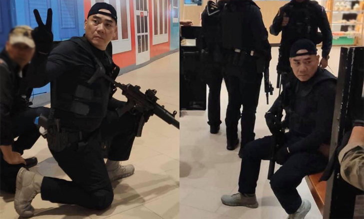 พล.ต.อ.จักรทิพย์ ชัยจินดา กับรองเท้าคู่กาย Oakley Light Assault Boot2