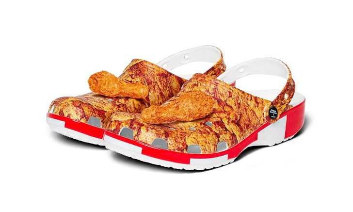 KFC x Crocs เปิดตัวรองเท้าลายไก่ทอด