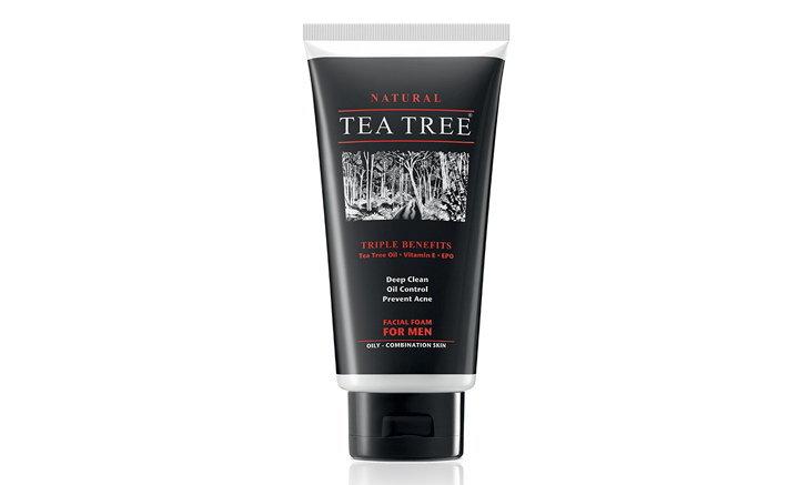 Tea Tree Facial Foam For Men