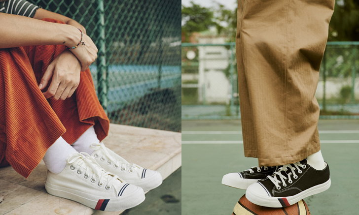PRO-Keds คลาสสิค รองเท้ารูปแบบสตรีทสไตล์ผสานกลิ่นอายแบบ Old School