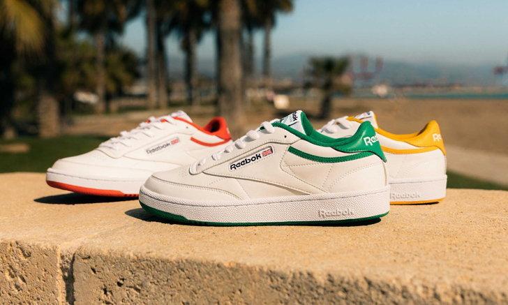 Reebok Club C ฉลองครบรอบ 35 ปีด้วยรองเท้าสามคู่สีใหม่