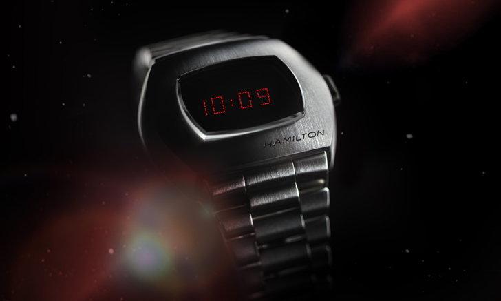 Hamilton PSR ชุบชีวิตนาฬิกาดิจิตอลเรือนแรกของโลก นำงานดีไซน์คลาสสิกกลับมาอีกครั้ง