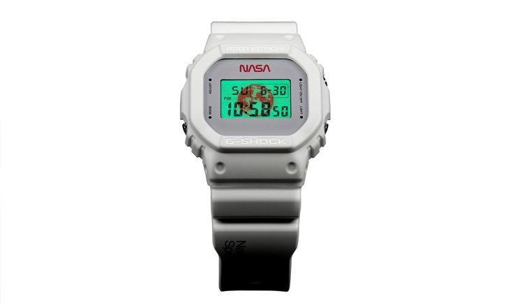 G-Shock x Nasa ปล่อยนาฬิกาเรือนพิเศษภายใต้โมเดล DW-5600