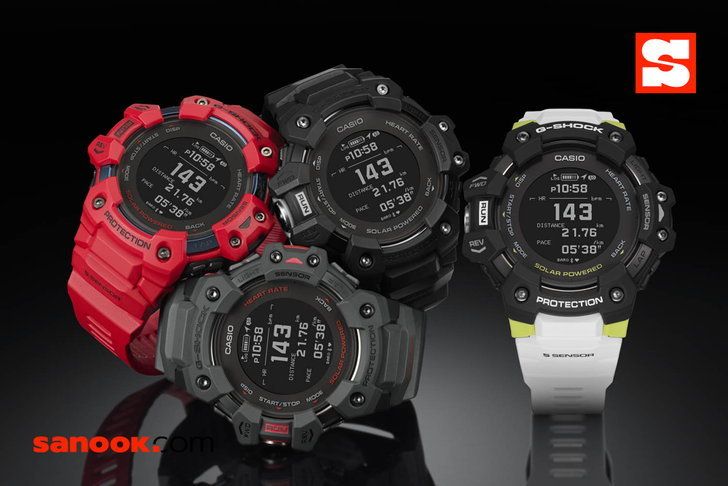 G-Shock G-SQUAD GBD-H1000