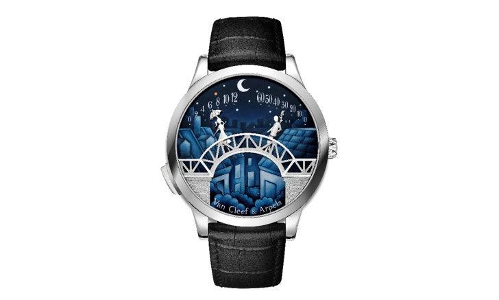 """Midnight Pont des Amoureux คอลเลคชั่นนาฬิกาข้อมือ """"สะพานแห่งความรัก"""""""