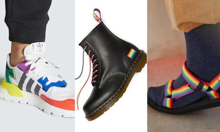 รวม 7 รองเท้าคู่พิเศษสำหรับ Pride Month 2020