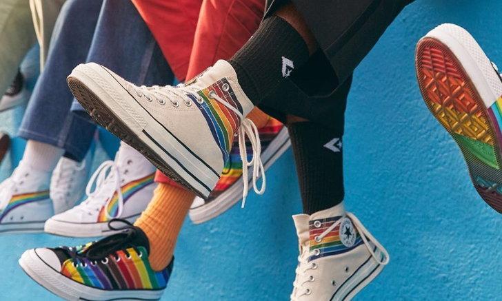 Converse Pride 2020 คอลเลคชั่นรองเท้าที่คุณสามารถปรับแต่งได้