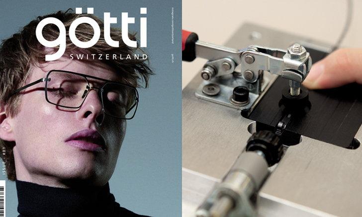 ก็อตติ (Götti) แนะนำกรอบแว่นตาแบบเจาะไร้วัสดุในการยึดติด