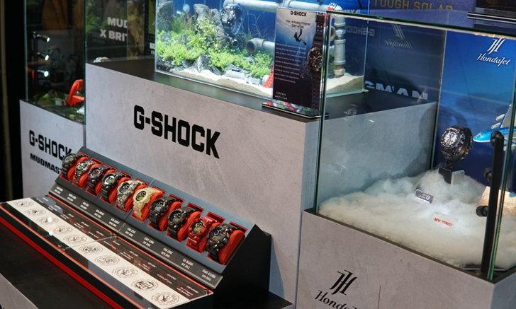 G-SHOCK แนะนำ 5 โมเดลน่าสนใจในงาน Central International Watch Fair 2020