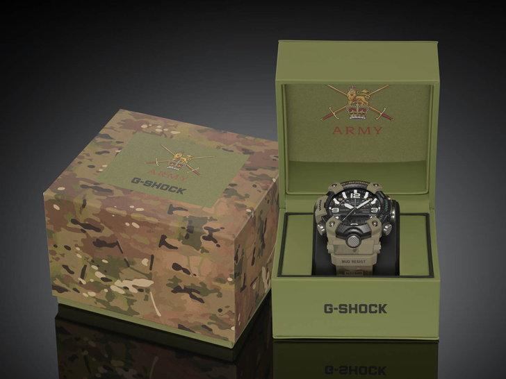 G-SHOCK MUDMASTER x BRITISH ARMY GG-B100BA-1A Limited Model