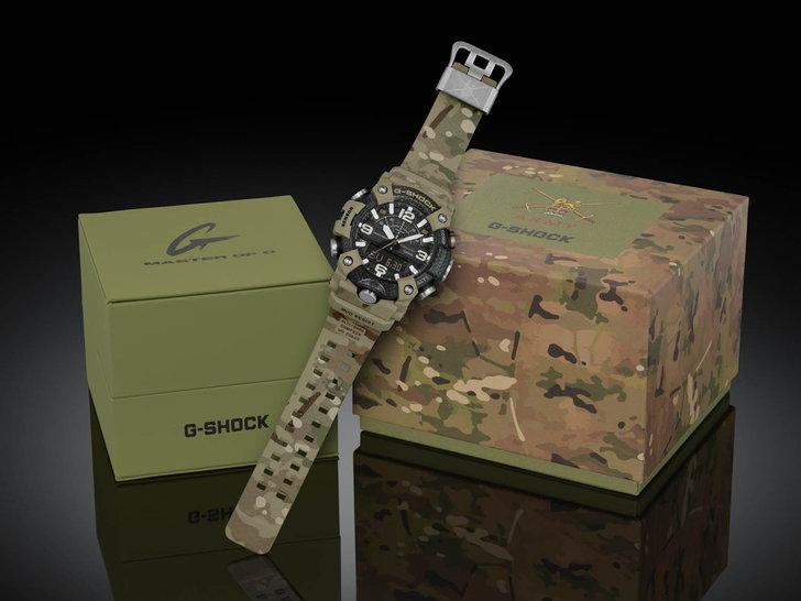 G-SHOCK MUDMASTER x BRITISH ARMY GG-B100BA-1A Limited Model 16,500 บาท