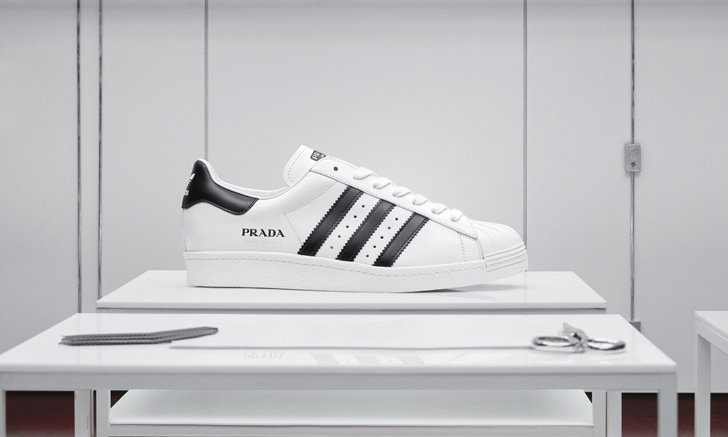 adidas Originals เผยโฉม PRADA SUPERSTAR ดร็อป 2 รังสรรค์โดย PRADA
