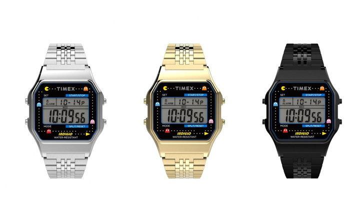 TIMEX x PAC-MAN™ นาฬิกาคอลเลคชั่นพิเศษครบรอบ 40 ปี PAC-MAN™