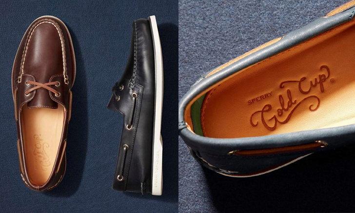 Sperry แนะนำรองเท้าหนังรุ่นไอคอนิก Gold Cup Collection